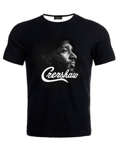 nipsey hussle Summer Fashion 3D Printed T-Shirts O Neck Casual Loose Short Sleeve Tees Black Designer T Shirts