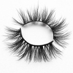 [Mink False Eyelashes-MX66]1 Pairs individual mink eyelashes 3d mink hair lashes bulk pack 3d mink lashes 18 mm eyelash vendors