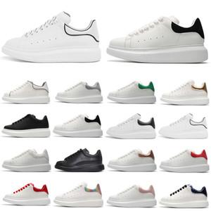 Klasik Beyaz bağbozumu Casual ayakkabılar Levha-formunun 36-44 womens Platformu Python pembe süet deri Düz erkekleri kırmızı Erkekler Kadınlar Ayakkabı yansıtıcı