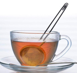 Tea Infuser Stainless Steel Sphere Mesh Tea Strainer Coffee Herb Spice Filter Diffuser Handle Tea Infuser Ball jllMbj yummy_shop