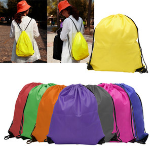 kids clothes shoes bag High quality School Drawstring Frozen Sport Gym PE Dance Backpacks free shipping