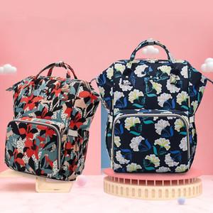 Sunflower Diaper Bag Leopard Stripe Mummy Backpack Waterproof Outdoor Nappy Bag Large Capacity Backpack Travel Bag Handbag Baby Care FWF1094