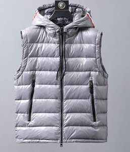 2020 Italian designer design men's anti-season light thick duck down men's lightweight vest autumn and winter down jacket vest jacket