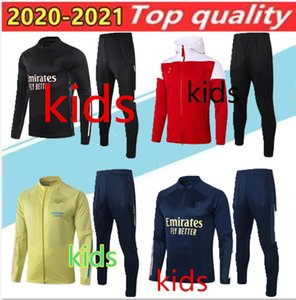 2020 2021 Arsen KIDS детский футбол Толстовка набор спортивной спортивной подготовки одежды рубашки поло короткий рукав тренировочные брюки