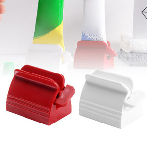 Toothpaste Tube Squeezer Rolling Squeezer Toothpaste Easy Portable Dispenser Tooth Paste Holder Bathroom Accessories Sets