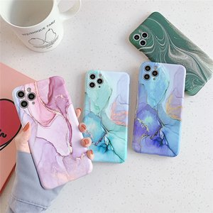 Marble Phone Case For iPhone 12 Pro 11 Pro Max XR XS Max X 11Pro 12 Mini Camera Protection Back Cover