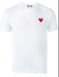 2019 COM Calidad Hombres Mujeres Gery Comme des Garçons mango total de la camiseta blanca Talla M pronta decisión V S