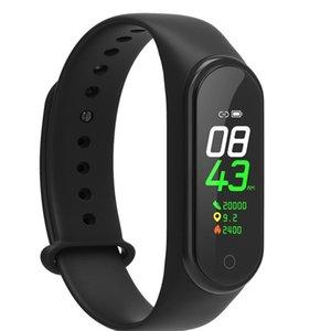 M4 Smart band 4 Real Heart Rate Blood Pressure Wristbands Sport Smartwatch Monitor Health Fitness Tracker smart Watch Wristband PK M3