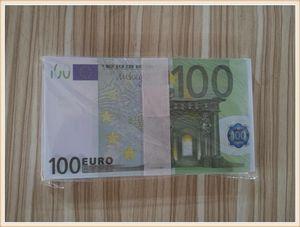 Token06 Venta en caliente 100 euros Fake Money Toy Toy Props Game Simulation Television Shooting Bar Practice Coin Film y MAJWD