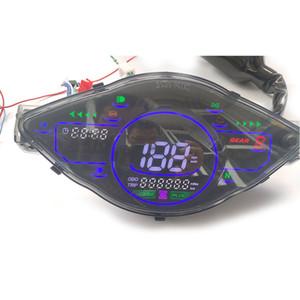 Moteur de moto numérique Tach Compteur horaire tachymètre jauge Affichage inductifs pour moteur de moto marine DC 12V Batterie