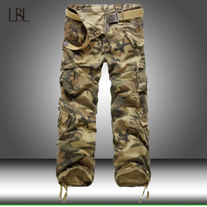 Tactical Pants Men Military Style Camouflage Many Pocket Pants Men's Camo Jogger Cotton Trousers Male Outdoor Streetwear 0930