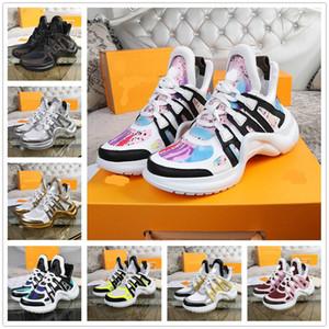2021 Luxus Designer Herren Frau Mode Sport Sportlässigschuhe Multicolor Ace Wandern Sneakers Mode Rivoli Trainer Größe36-43 #