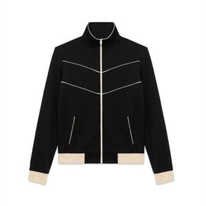 20FW Andys European Fashion Logo Zipper Sweatshirt Coat Vintage High Street Coat Couples Women Mens Fashion Retro Jackets HFXHJK139