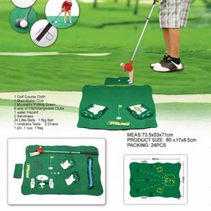 Plastic Golf Club Games Set Mini Golf Practice Set Ball Sport Kids Educational Toys for Children Gift Party Supplies