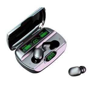 1pcs G6 TWS True wireless Bluetooth 5.1 Auricolari Touch HiFi Mini Auricolare Sport Stereo stereo stereo con microfono impermeabile