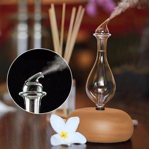 Verre en bois aromathérapie huiles essentielles pures Diffuseur d'air nébuliseurs Humidifier ménagers Humidifier Appliance climatisation 1012
