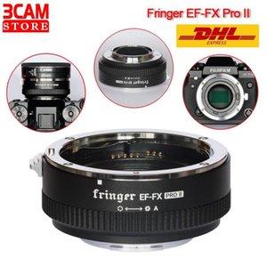 Адаптеры линзы крепления Fringer EF-FX Pro II адаптер для EF для автоматического фокусировки совместимый X-H X-T X-Pro