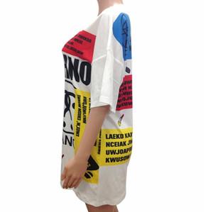 2021 Yeni Varış Moda Kadın Tuval Yaz Kısa Kollu Elbise Tasarımcısı Marka T-Shirt Elbiseler Yüksek Kaliteli Bayanlar Giysi Üstleri Etek Abov