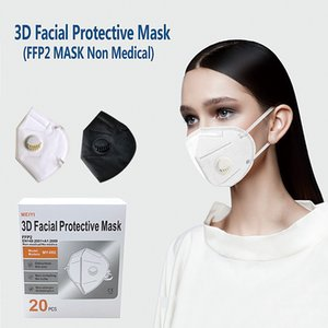 MEIYI FFP2 Face Mask CE Certificate 5-Layer Protective Face Mask Dust-proof Anti-dropping Mask DHL Free Shipping