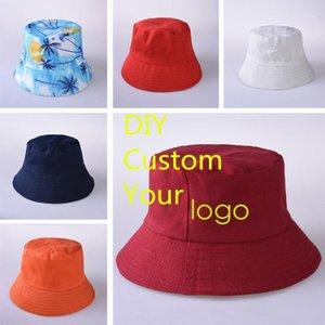 Factory Price! Free Custom LOGO Design Bucket Hat Men Women Summer Bucket Cap k Bob Hat Gorros Fishing Fisherman1