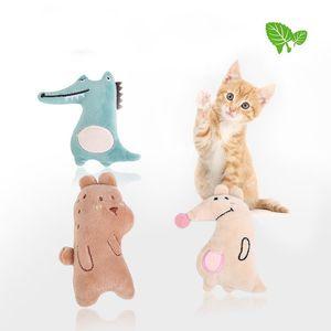 ألعاب جميلة pet القط مضحك النعناع لعبة أفخم للاهتمام جديد تمساح الكنغر الدب اللوازم الساخن بيع 1 8cw k2