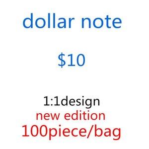 Оптовая поддельные качества деньги фильм деньги лучшие 10 подсчет дизайнеров фильма для банкноты PROP K детей USD Bags-C7 Mokaj