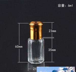 L 6ml Glass Essential Oil Travel Bottles 10ml 12ml Empty Roll On Refillable Perfume Bottle Steel Roller sqcHPQ dh_seller2010