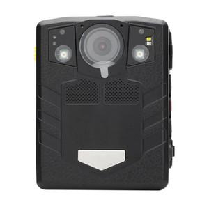 Vücut Aşınmış Kamera HD Gece Görüş 1296 P DVR Kamera Su Geçirmez Taşınabilir Güvenlik Kameraları