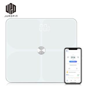Гуанчжоу Juropin для Bluetooth Body Fat Scale Смарт Цифровой анализатор Состав BMI Bluetooth Body Fat Scale