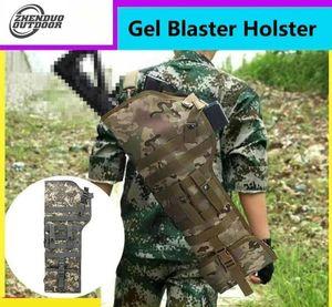 ZHENDUO OUTDOOR 28'' Tactical Gel Blaster Scabbard Bag Nylon Shoulder Sling Case Holster Hunting Bags