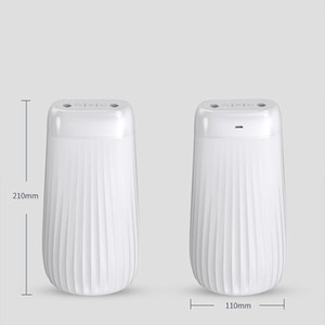 Humidifier double spray home mute bedroom small large capacity wireless charging desk dormitory heavy fog