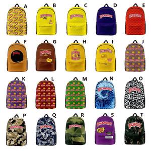 20 estilos de tela Oxford Backwoods mochila para Hombres Niños Adultos Backwoods hombro del ordenador portátil Escuela de viaje bolsa de transporte