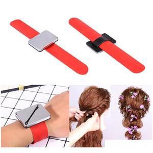 Professioneller Salon Magnetic Armband Armband Band Strap Gürtel Haar Clip Halter Haarschmuck Friseur Friseur Qylrxt Sweet07