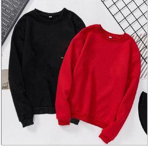 Азиатского размер Черных толстовки куртки Printed Для женщин Осени вышивки конструктора Пуловера Кофта с длинным рукавом с капюшоном Верхней одеждой Одежды