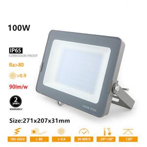 Ultrathin LED Flood Light 30W 50W 70W 100W 200W Outdoor Aluminum Spotlight Led Floodlight Waterproof IP65 Garden Lighting Wall Lamp