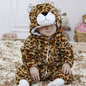 Tiger For Baby Animal Cosplay Costume Child Kid Boy Girl Onesie Winter Autumn Soft Pajama Fancy Infant Cute Sleep Suit1