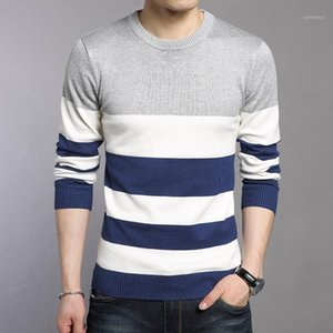 Woqn Pull Hommes 2017 Spring Casual Hommes Pulls Fashion O Col Pull à manches complètes Hommes Slim Pullovers Slim Male1