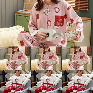 FRMZ Teens Pigiama Pajamas Manica lunga Pigiama di cotone Big Bambini Abbigliamento Set Pijamas per inverno Sleepwear Boys Boys Pigiama per ragazze
