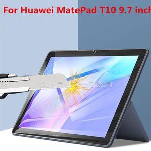 Защитные стекла экрана планшетных ПК закаленные стекло для Huawei MatePad T10 MatePadt10 9,7 дюйма 2021 протекторная пленка