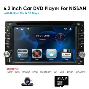 6.2'' Double 2 DIN Car DVD Player Stereo Universal Head unit GPS Radio Bluetooth AU MAP SD Steering wheel control AM FM RDS DVBT