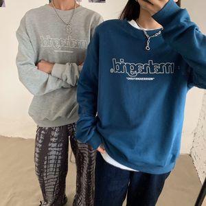 mahagrid MGD Korean stars same hollow letter Printing Series cotton men's and girls round neck sweater LA4R