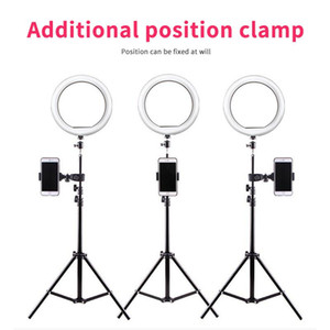Selfie Ring Lamp Led Ring Light For Phone Photography Lighting Camera Tripod Kit Photo Equipment Para Air Black
