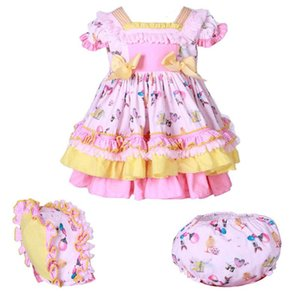 Baby Girls Spanish Dress Summer Princess Birthday Party Dresses for Girl Christening Outfit Infant Kids Robe Fille Child Clothes