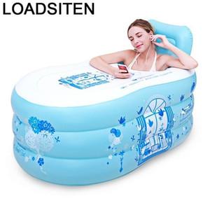 Bagnoire flessibile Badkuip Springkussen Foot Adult Portable Banho Banheira Glofvel Vasca da vasca da bagno Vasca da bagno gonfiabile