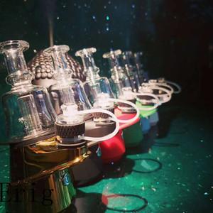 newest dry herb wax vape mod starter kit SOC peak dab smoking device portable concentrates vaporizer wax dabbing mod DHL free shipping