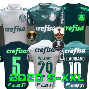 Finales 2020 PalmEiras Fútbol Jerseys 20 21 Hogar a la 3ª Libertadores Jersey L. Adriano Ramires Dudo Veiga Willian Roni Football Shirts