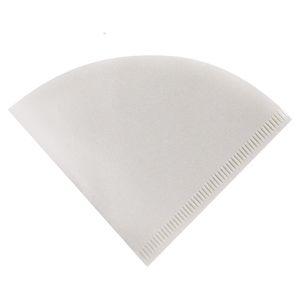 Forma de cone Bolsa de filtro de café 50 peças de mão Covers Café Filtros Sacos de papel Café Pó Papers Nova Chegada 8nb L1