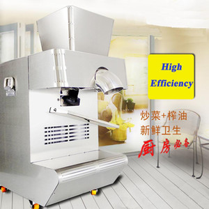 Pressionador de óleo Presser Meio Automático Automático Comercial Sésamo De Amendoim Máquina de Imprensa
