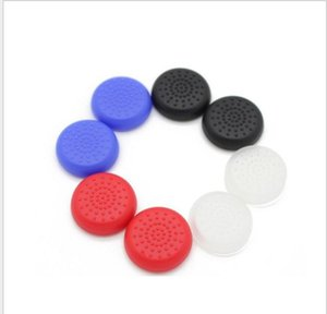 TPU Silicone Thumb Grips Stick Handle Rocker Protective Case for PS4 PlayStation 4 PS3 Xbox one 360 Game Controller Hat Cap
