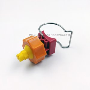 YS adjustable ball flat fan spray nozzle,adjustable ball clamp eyelet clip nozzle, adjustable ball clip clamp eyelet nozzle